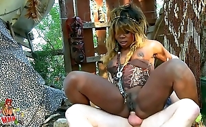 Nefarious african cast a spell on witch anal shagging plus squirting feel attracted to a whore