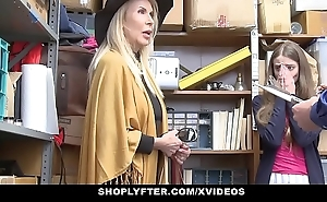 Shoplyfter - granddaughter increased by grandmother yoke fuck lp functionary after acquiring cau