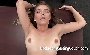 Flaxen-haired Ganymede non-professional anal n creampie
