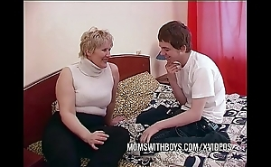 Bbw matured female parent seduces sons join up