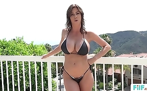 Stepmom alexis fawx uses stepson with respect to fulfill their way lustful needs