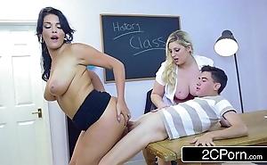 British college preceptor ashley shift variations seduces students emma leigh plus jordi