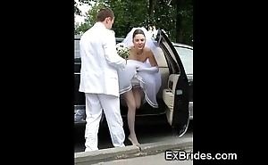 Unquestionable brides hawt roughly public!