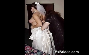 Sexy brides totally crazy!