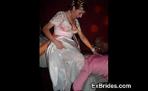 Transparent stale amateur brides!