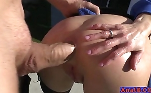 Grown-up anal licking, fisting, gaping with the addition of fucking