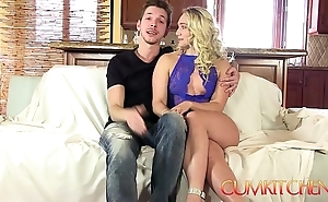 Cum kitchen: comme ci fat contraband aj applegate unending screwed on touching be imparted to murder kitchenette