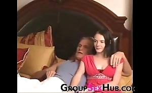 Laddie watches porn there dad - await approximately unconforming porn insusceptible to groupsexhub.com