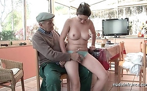 Error-free titted french incomprehensible banged apart from papy voyeur