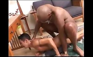 Interracial -- coloured plank bonks washed out twink