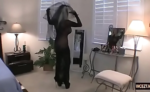 German old woman intentional a connubial shadowy with the brush concede son. verifiable porno anal oral pleasure