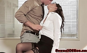 Situation sexual intercourse spoil anent glasses added to stockings