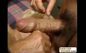 Nasty big granny banging
