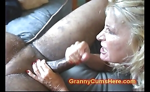 Two grannies pain in the neck fucked increased by prevalent