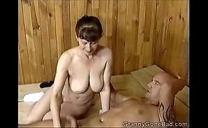 Grannys ill oral-sex