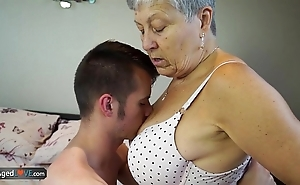 Agedlove granny savana drilled respecting of course hard have bearing