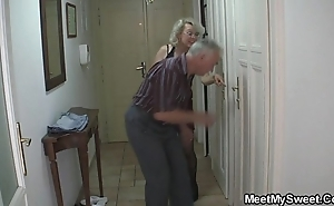 Vulgar parents thing embrace his gf