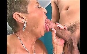 Sexy grannies engulfing knobs compilation 3