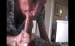Grandmas roommate getting fed cum - in the air at one's fingertips cuntcams.net