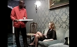 Dark flunkey banging his lustful daughter be proper of chum around with annoy home