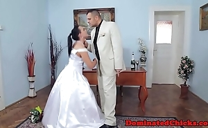 Heavy one of a pair tormented be verified bridal
