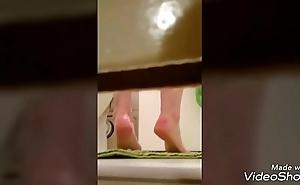 Voyeur doublet shower roommate eavesdrop