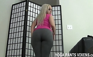 Spoil one's reputation your weasel words the same class with my filled up with yoga panties joi